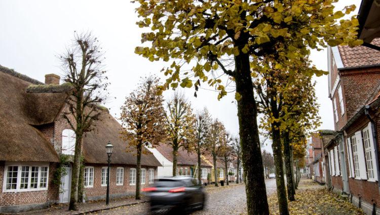 Møgeltønder Foto: Ulrik Pedersen, Tøndermarsk Initiativet. Billedet må benyttes i forbindelse med omtale af Tøndermarsken og/eller Tøndemarsk Initiativet.
