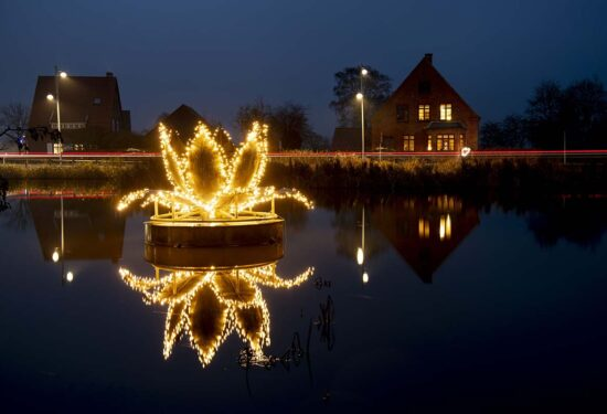 julelys-åkande